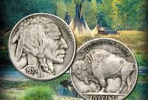 Honoring America's Buffalo Nickel / Littleton Coin honors the 100th Anniversary of the legendary Buffalo nickel coin / by Littleton Coin Company
