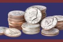 Kennedy Half Dollars / Littleton Coin pays tribute to 50 years of the Kennedy Half Dollar coin  / by Littleton Coin Company