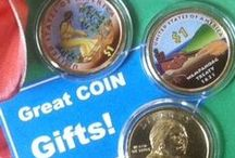 Great Coin Gifts  / Littleton Coin popular coin collecting gifts and treasures / by Littleton Coin Company