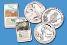 National Park Quarters - Littleton Coin / America's natural beauty is captured forever in her coins. The U.S. Mint's National Park quarter series began in 2010 and will run through 2021. Each state in the US will get their own coin. The coins of each state will feature a unique National Park or historic landmark - five coins/states will be released each year.  To learn more or to collect these coins visit www.littletoncoin.com  or http://www.beautifulparksquarters.com/about-the-new-series/  / by Littleton Coin Company