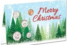 Top Holiday Coin Gifts / The results are in and here's what is trending for Littleton Coin's top selling coin gifts for holiday gift giving. Find something for any coin collector. Great gifts for men, women and the whole family!  / by Littleton Coin Company