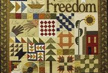Underground Railroad Quilts / Honor, my heroine, takes part in the Underground Railroad. The secret path to freedom--often marked by quilts & their secret codes.