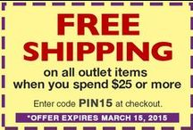 Littleton Coin Outlet - Sale page / Check out the new Littleton Coin Outlet board. Tucked inside are overstocked, limited edition or past season items. Many are only available in small quantities so don't delay - supplies are limited! Just click on the image you like and then, click again to add it to your cart. Don't forget to apply code: PIN15 at checkout for free shipping when you spend $25 on outlet items! Hurry this offer expires March 15, 2015.  Be sure to Like, Pin and Share these special offers with your friends! / by Littleton Coin Company