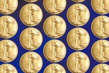 Glamorous Gold Coins / These gold coins are some of the most sought after coins in the world! When you put gold in your collection it really shines. / by Littleton Coin Company