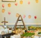 Party Style: Tales of Beatrix Potter / Inspirational ideas for a Tales of Beatrix Potter or Peter Rabbit themed party.