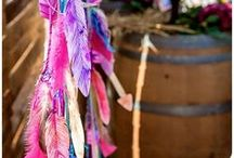 Party Style: Wild Princess / Inspiration for a young wild girl's party filled with boho vibes for a rustic princess.