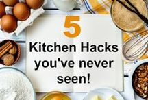 FOOD | KITCHEN | HACKS / Easy Kitchen and Food Hacks that will change your life!