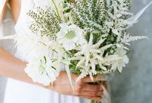 Party Style: White Magic / White wedding inspiration - with a small dash of foliage.