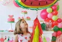 Party Style: Tutti Fruity / Fruit is the perfect party inspiration - fun and colourful, tasty and vibrant!