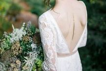 Style Notes: What the Bride wore / Fashion inspiration for the perfect dream wedding gown for the bride.