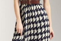 A Houndstooth World / Pattern love: houndstooth