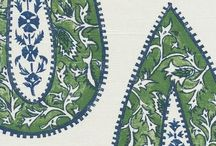 Textiles / A collection of diverse fabrics, either still in print or antique textiles. #fabric #textile