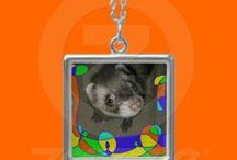 Ferret and Friends / These are some of the products I sell in my online Zazzle shop, Ferret and Friends.  I have two cats, two ferrets and a tortoise and I love to photograph their silly antics!