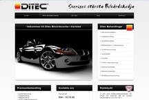 Webb / Här visar vi ett urval av de webbplatser vi har gjort. Materialet ägs av våra kunder och får inte återanvändas utan tillåtelse.