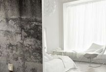 Concrete Wallpapers / Digitally printed concrete walls to add texture and feeling to any environment.