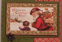 Cards - Christmas -  Tags, Scrapbooking, ATC's / by Linda Spray