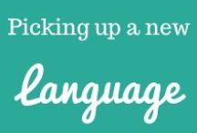 Picking up a new language