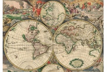 Old Maps Wallpapers / A range of old map images which could be used as wall displays/wallpapers.
