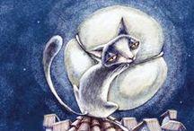 Cat Art / by Shai Fosbery