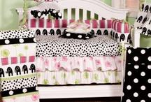 Hottsie Dottsie  / Hottsie Dottsie baby bedding set perfect for your little girl! http://www.cottontaledesigns.com/collections/hottsie-dottsie.html