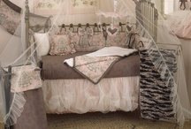 Nightingale / Nightingale is absolutely breath-taking and beautiful, a soft classic baby bedding set with cotton percale bumper in subtle pink, gray and charcoal. Dust ruffle has underskirt of pin tuck poly satin with a double overlay of champagne tulle.  The set's coverlet is soft fancy fur, lined in pink and charcoal dot flange trim. What an amazing ensemble for your sweet baby girl. http://www.cottontaledesigns.com/collections/nightingale.html