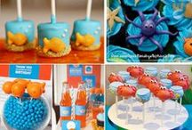Disney: Finding Nemo Party Ideas / Looking to plan a Finding Nemo party? Here's some inspiration to get you on your way...
