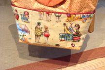 Eva's Patchwork  Projekte / Taschen, Tischdecken, Kissen etc.......