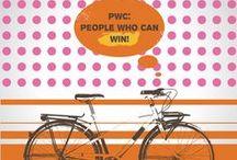 """PwC: People Who Can / Каждый год команда PwC принимает участие в благотворительном заезде, чтобы помочь детям из """"Даунсайд Ап"""". В 2013 году команда называется """"People Who Can""""."""