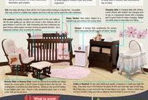 Nursery Room Ideas / Innovative ideas and designs for a nursery room.