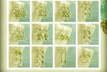 Chainmaille, EARRINGS, Chainmail, Chain Maille, Chain Mail / Handmade Chainmaille earrings from simple to complex.