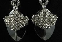 Chainmaille, SCALEMAILLE, Scales, Chainmail, Chain Maille, Chain Mail / Handmade scalemaille jewelry and creations for inspiration and admiration. / by Unkamensupplies