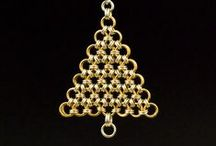 Chainmaille, Chainmail, CHRISTMAS, Chain Maille, Chain Mail