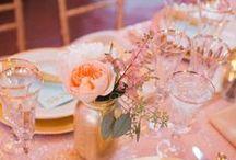 Table settings / by Carolina Fonseca