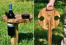 Wine in the Wild / Barefoot Wine is all about getting out and enjoying yourself! Whether you are going to the beach, camping, or simply taking it out to the backyard or to the bathtub, here are some creative ways to take your wine with you.