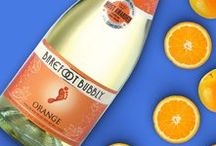 Feelin' Fruity / Discover the fruity and flavorful sparkling wines from Barefoot Wine & Bubbly. New names, new packages, same great bubbly taste. Introducing your new favorite fruit in a flute!