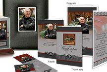 Motorcycle/Car Enthusiast Funeral Inspiration / Want to honor the car or motorcycle enthusiast in your life? Here are a few funeral stationery themes to give you inspiration.