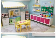 Children's playrooms and bedrooms / Ideas and themes for kids' rooms decoration / by Angelique Anthian