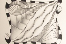 Zentangles and Doodles / A collection of some of my own Zentangles, beautiful Zentangles and Doodles I have found online, and some great tutorials.