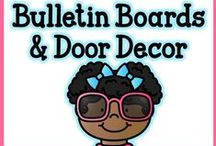 Bulletin Boards & Door Decor / All of my favorites, here in one board! <3