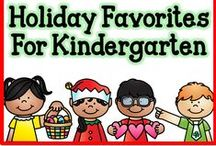 Holiday Favorites for Kindergarten / All of my favorite pins related to Holiday celebrations in Kindergarten.