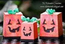 Gift and Treat Boxes, Bags, and More / Papercrafts Handmade by M Miranda Creations