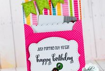Gift Card Holders / Papercrafts Handmade by M Miranda Creations