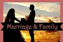 Marriage & Family | Christian families, Faith-based advice for spouses / Emphasizing the ministry of marriage and the importance of the family, these posts from Christian bloggers and faith-based nonprofits offer marriage advice and instruction for cultivating God-centered families. Scripture, inspiration, family ministry, marriage counseling, Word of God
