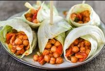 Recepten met erwten / Hier vindt u heerlijke recepten met groene (split)erwten, kikkererwten, grauwe erwten en kapucijners.