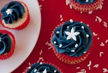 4th of July Ideas & Recipes / Decorating ideas, party ideas, and recipes for 4th of July and Independence Day. 4th of July recipes.