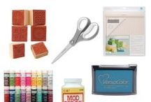 Favourite Craft Supplies / My crafty essentials - the things I love and use.