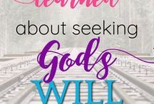 God's Will | God's Timing | Faith in God / How to know God's will, Trusting God's plan, Faith in God's timing, How to know God speaking, God's promises, Scripture encouragement, Bible study, Christian living