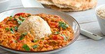 Lekker werelds. Linzen / Gedroogde linzen worden veel gebruikt in wereldgerechten als Curry en Dal of Arabische stoofschotels. De gedroogde hoeven niet perse voor geweekt te worden dus je kunt ze zo toevoegen aan de je soep of stoofschotel.