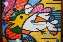 Mis pinturas. / by Nurith Katz