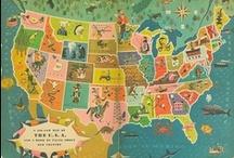 Vintage Travel Ads / Disfruta de estos posters antiguos de destinos viajeros www.baextours.com